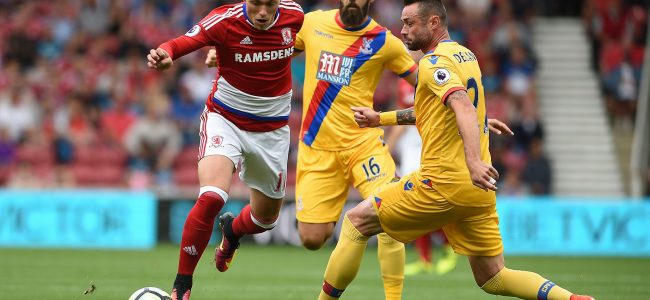 Crystal Palace vs Middlesbrough
